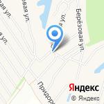Полюшко на карте Барнаула