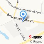 Бизнес-Принт на карте Барнаула