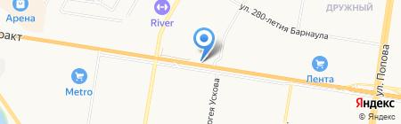 АТК пласт на карте Барнаула