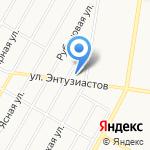 Юрина 208е на карте Барнаула