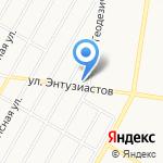Форт на карте Барнаула