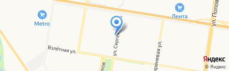 АлтайГлонассМониторинг на карте Барнаула