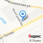 МеталлоГрад на карте Барнаула