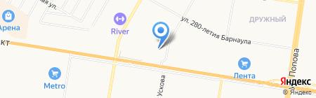 Грузчики плюс на карте Барнаула