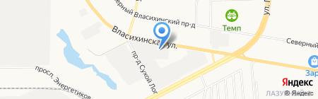 Центр грузовых автомобилей на карте Барнаула