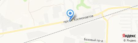 ДиПОС-Алтай на карте Барнаула