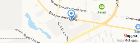 Хёрманн Руссия на карте Барнаула