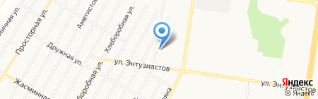 СТС на карте Барнаула