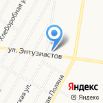 CROUTON на карте Барнаула