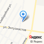 Стройкомпас Плюс на карте Барнаула