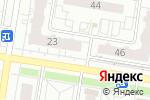 Схема проезда до компании Хмельной дворик в Барнауле
