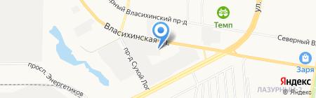 Агростор на карте Барнаула