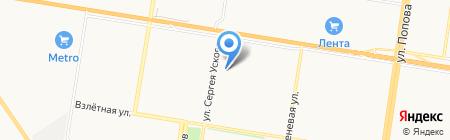 Пивновъ на карте Барнаула