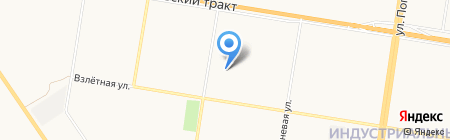 Двери рядом на карте Барнаула