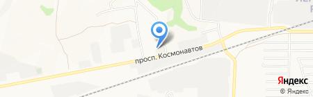 АЗС Газойл на карте Барнаула