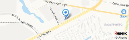 Алтайтехсервис на карте Барнаула