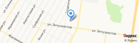 Проектные Системы на карте Барнаула