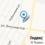 Алтайская краевая федерация КУДО на карте Барнаула