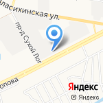 Системы Мониторинга на карте Барнаула