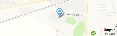 АВТОАКАДЕМИЯ на карте Барнаула