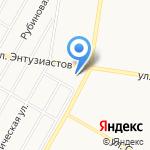 Единство на карте Барнаула