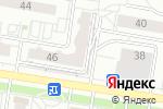 Схема проезда до компании SimRacing22 в Барнауле