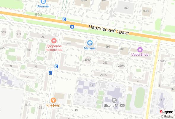 жилой комплекс тракт Павловский, 295А