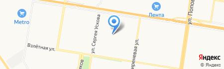 Детский сад №267 на карте Барнаула