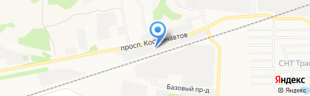 Кант на карте Барнаула