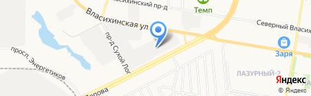 Доза-Агро на карте Барнаула