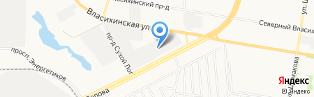 Универсал-Спецтехника на карте Барнаула