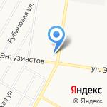 Хмельной дворик на карте Барнаула