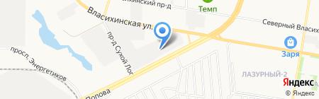 Медиа Форм на карте Барнаула