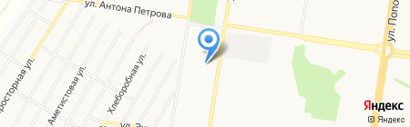 Мастерская по удалению вмятин на карте Барнаула