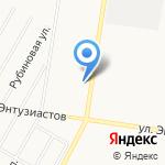 Запаска на карте Барнаула