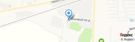 Магазин строительных ходулей на карте Барнаула