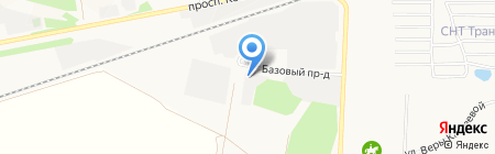 Астерия на карте Барнаула