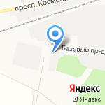 Bast22 на карте Барнаула