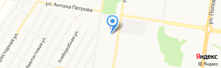 На Солнечной поляне на карте Барнаула