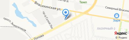 Агропоставка на карте Барнаула