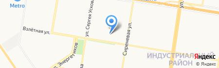 Строительное предприятие Алтайстрой на карте Барнаула