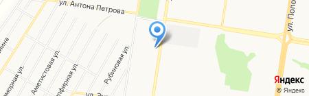 Магазин автозапчастей для ВАЗ ГАЗ на карте Барнаула