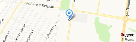 Ремонтная компания на карте Барнаула