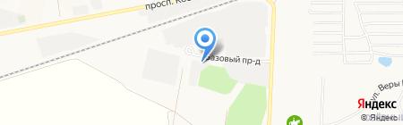 Базовый 7 на карте Барнаула