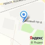 Китзапчасть на карте Барнаула
