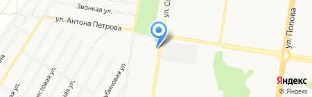 ИНТ-ЭЛЕКТРО на карте Барнаула