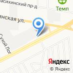 Медео на карте Барнаула