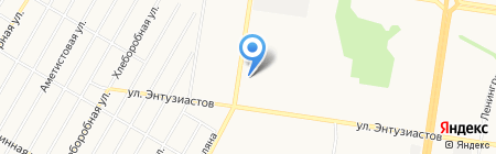 Ключ в жизнь на карте Барнаула