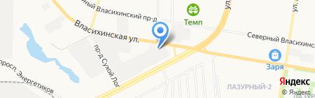 Компания по заказу бензовозов на карте Барнаула