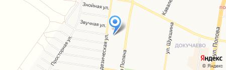 АтаКа-47 на карте Барнаула